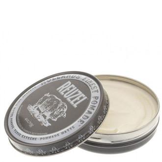 Помада для укладання волосся Reuzel Extreme Hold Matte Grey 35g