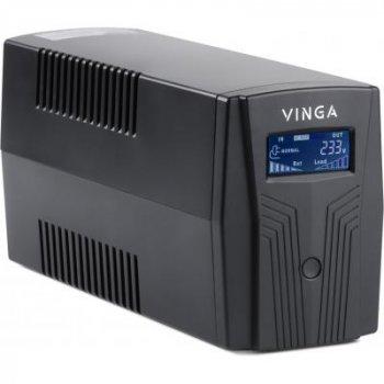 Джерело безперебійного живлення Vinga LCD 600VA plastic case (VPC-600P)