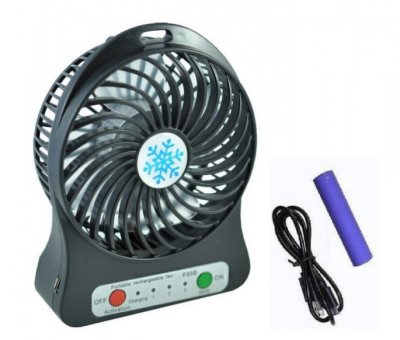 Настольный портативный вентилятор MINI FAN Portable USB