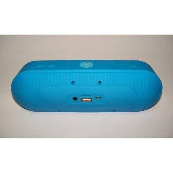 Портативна bluetooth колонка MLL - 60 ФМ, MP3, USB, радіо Синій