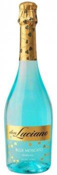 Винний напій Don Luciano Blue Moscato бірюзове солодке 0.75 л 7% (8410261100142)