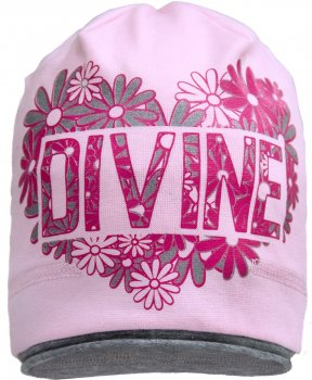 Демисезонная шапка David's Star 1706 48 см Розовая (ROZ6400028384)