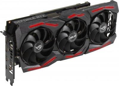 Asus PCI-Ex GeForce RTX 2060 Super ROG Strix 8G Gaming EVO 8GB GDDR6 (256bit) (1470/14000) (2 x DisplayPort, 2 x HDMI, 1 x USB Type-C) (ROG-STRIX-RTX2060S-8G-EVO-GAMING)