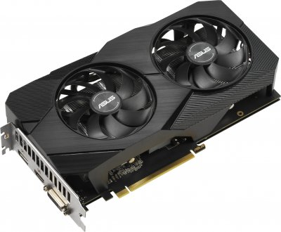 Asus PCI-Ex GeForce GTX 1660 Super Dual EVO Advanced 6GB GDDR6 (192bit) (14002) (1 x DisplayPort, 1 x HDMI, 1 x DVI) (DUAL-GTX1660S-A6G-EVO)