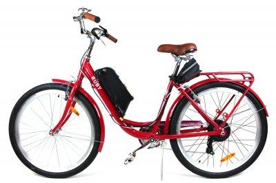 Электровелосипед RUBY колесо 26 36В 350Вт 13Ач литий ионный аккумулятор