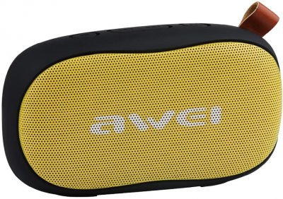 Портативна акустика AWEI Y900 Bluetooth Speaker Yellow/Black (305_19)