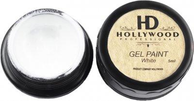 Гель-фарба HD Hollywood Біла 5 мл (HD-КБ) (2200320050022)