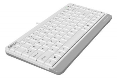 Клавіатура A4Tech FK11 White USB