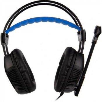 Навушники SADES Xpower Black/Blue (SA706-B-BL)