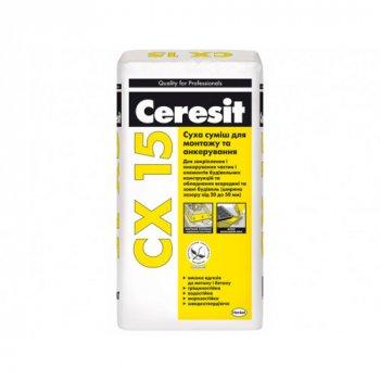 Суміш для анкерування кріплень будівельних конструкцій Ceresit CX 15
