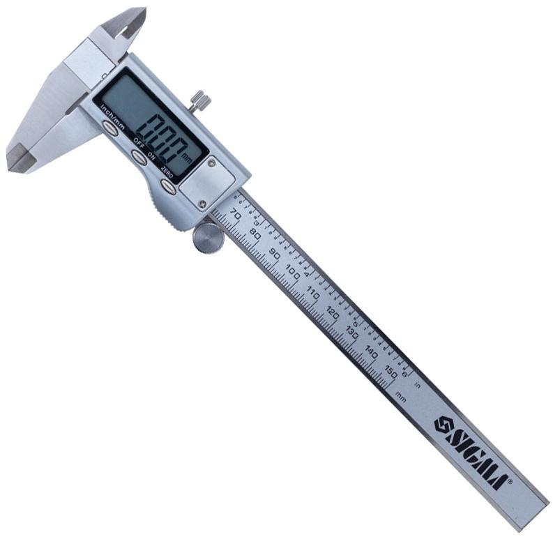 Штангенциркуль Sigma PROFI цифровий 150 мм