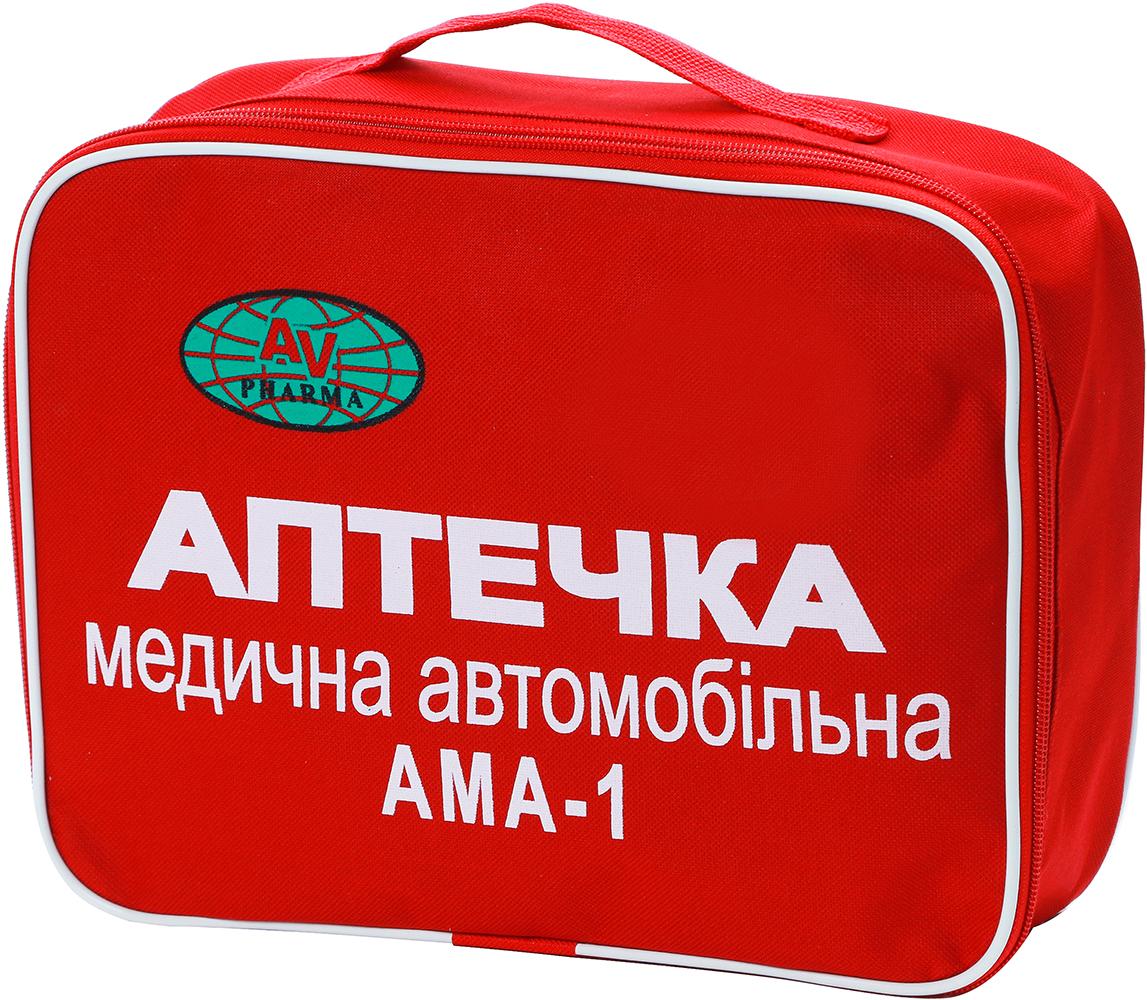 Аптечка медична АВ-ФАРМА АМА-1 автомобільна (AV-PH-AMA1)