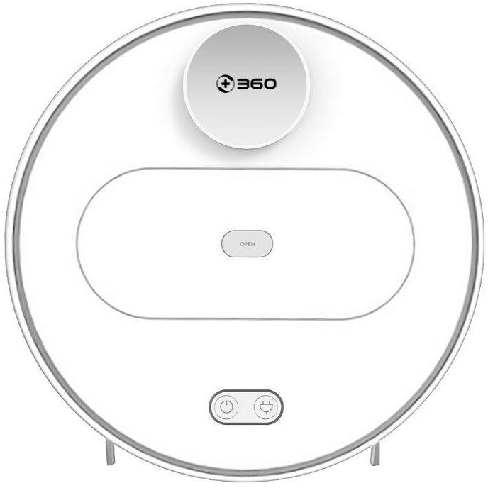 Робот-пылесос 360 PLUS Vacuum Cleaner S6 White