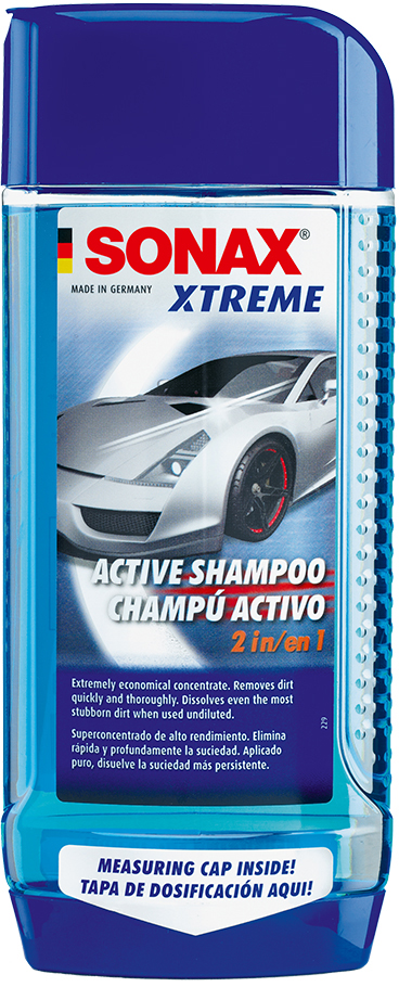 Автошампунь Sonax Xtreme Active Shampoo 2 in 1 500 мл