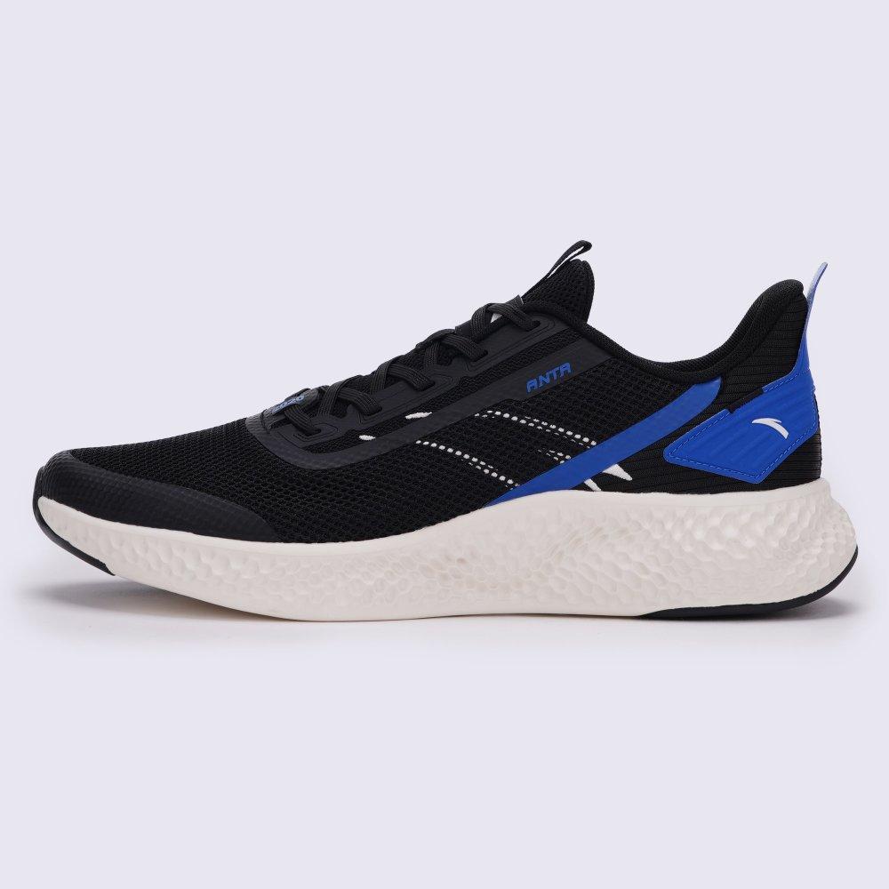 Мужские кроссовки Anta Running Shoes Черный + Синий 42,5 (ant812035518-6)