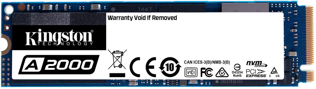A2000 1TB NVMe M.2 2280 PCIe 3.0 x4 3D NAND TLC (SA2000M8/1000G)