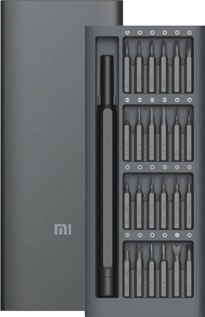 Викрутка Xiaomi Mi Precision Screwdriver + 24 насадки MJJXLSD002QW