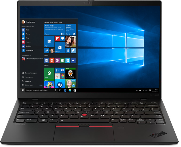 Ноутбук Lenovo ThinkPad X1 Nano Gen 1  Black