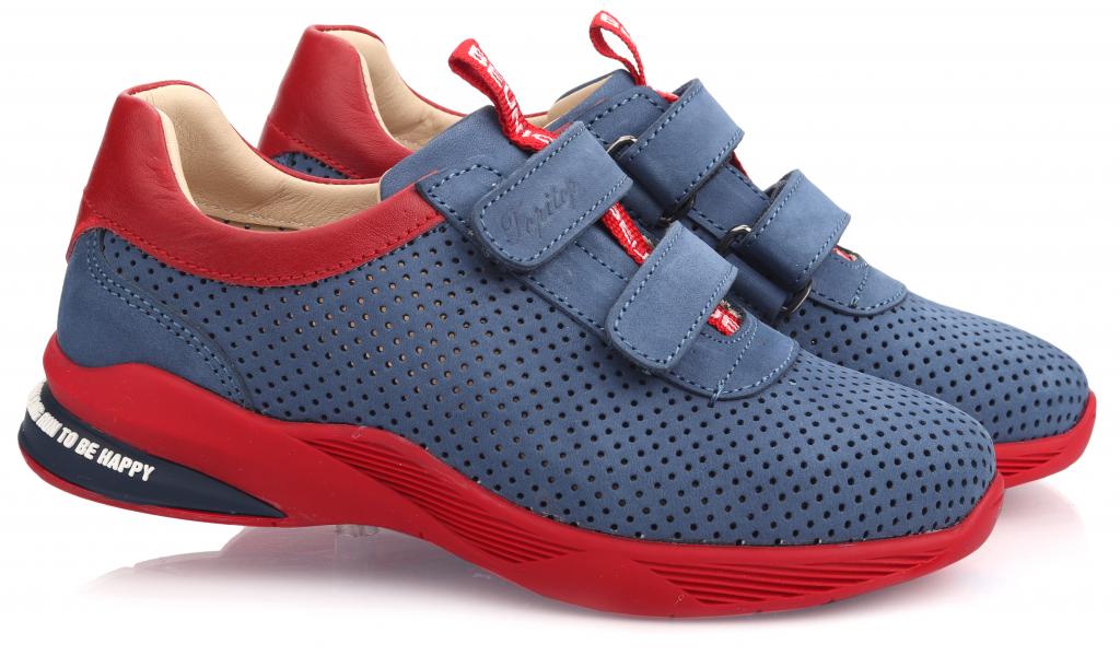 Topitop / Кроссовки TOPITOP 616 для мальчиков сине-красные. Размер 20