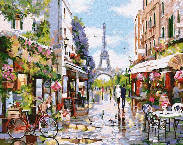 Картины по номерам 40х50 см Brushme Полдень в Париже (GX 32748)