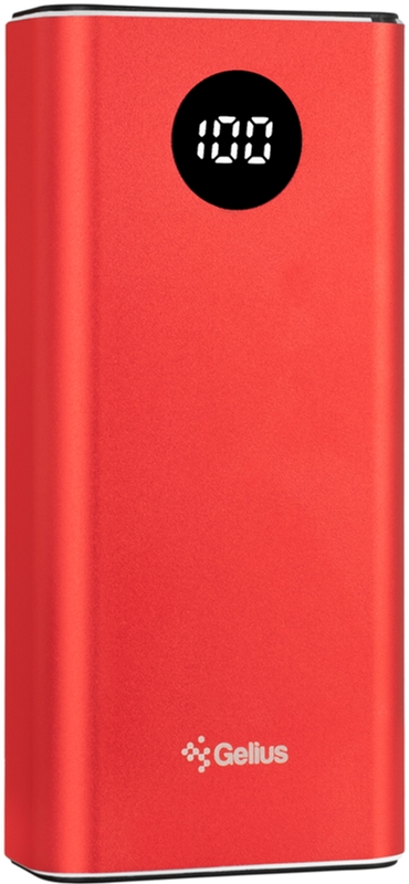 УМБ Gelius Pro CoolMini 2 PD GP-PB10211 9600 mAh Red