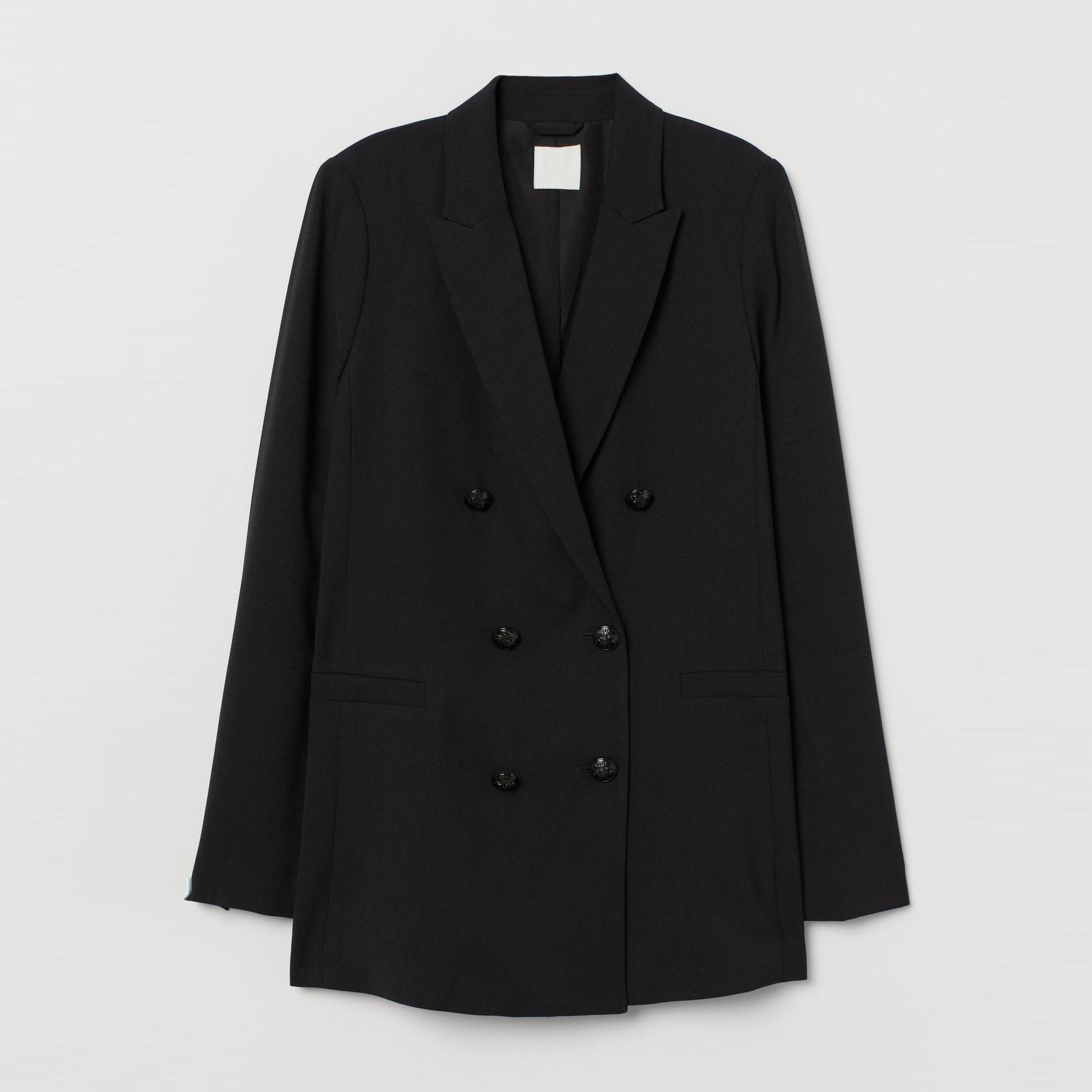 Пиджак H&M 7833840RP7 36 Черный