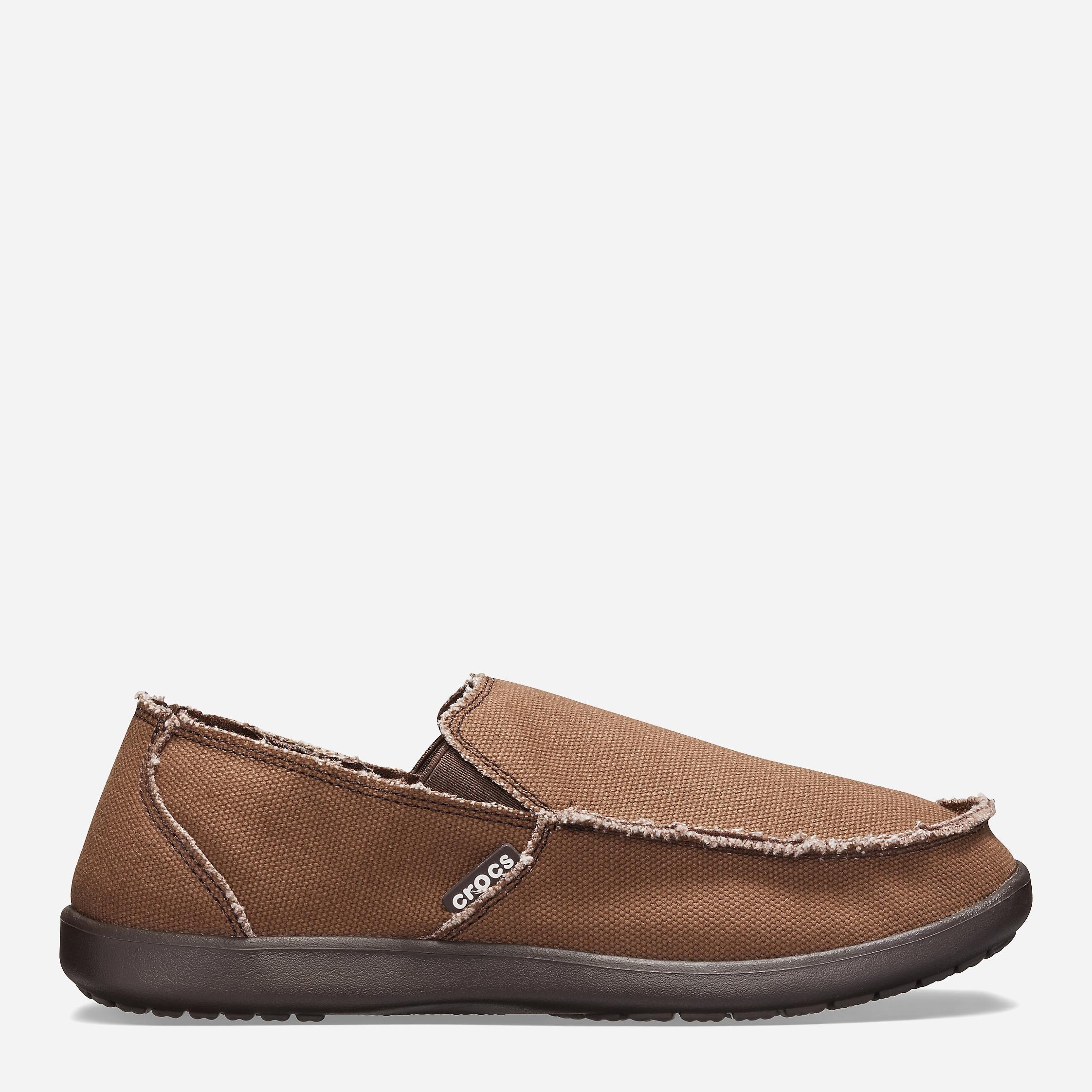 Слипоны Crocs Santa Cruz Man 10128-22Z-M10 43-44 27.2 см Коричневые (8835035552420)