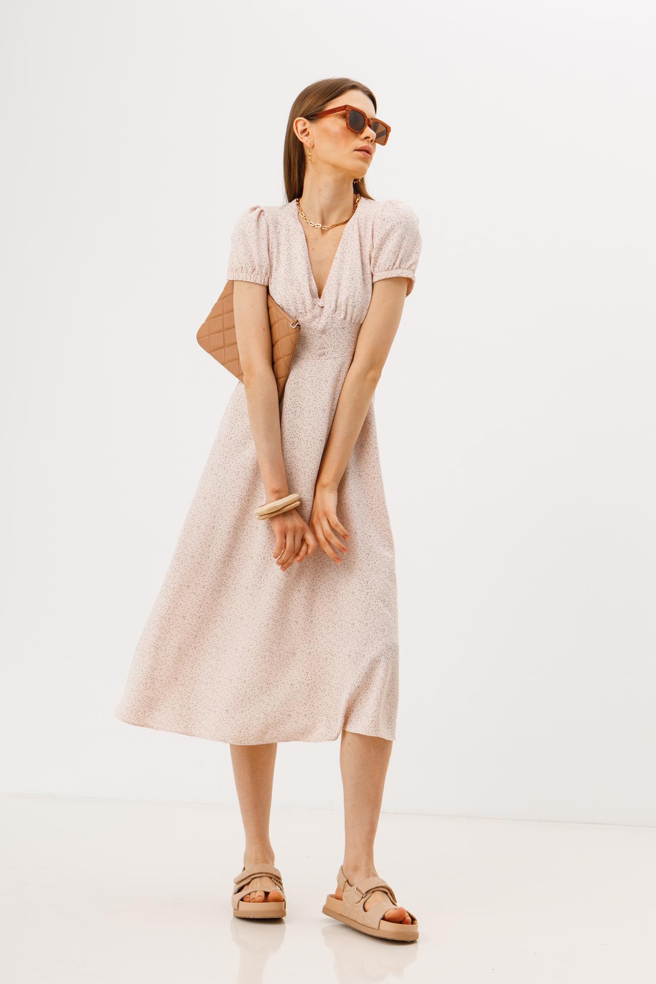 Женское платье Stimma Сушон 7236 L Серый