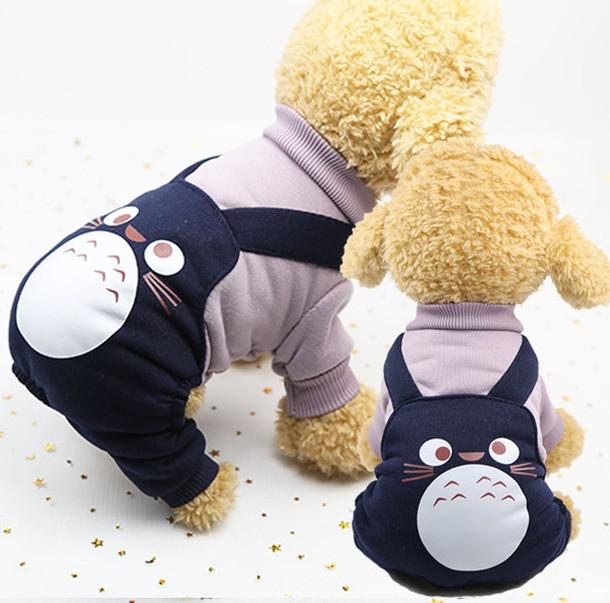 Спортивный костюм для собак Alfa Тоторо S Синий
