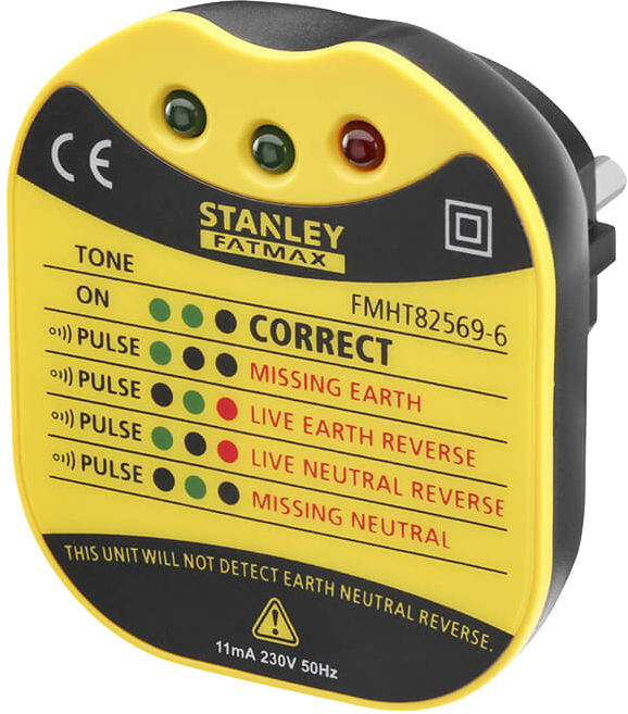 Тестер напруги Stanley в розетці (FMHT82569-6)