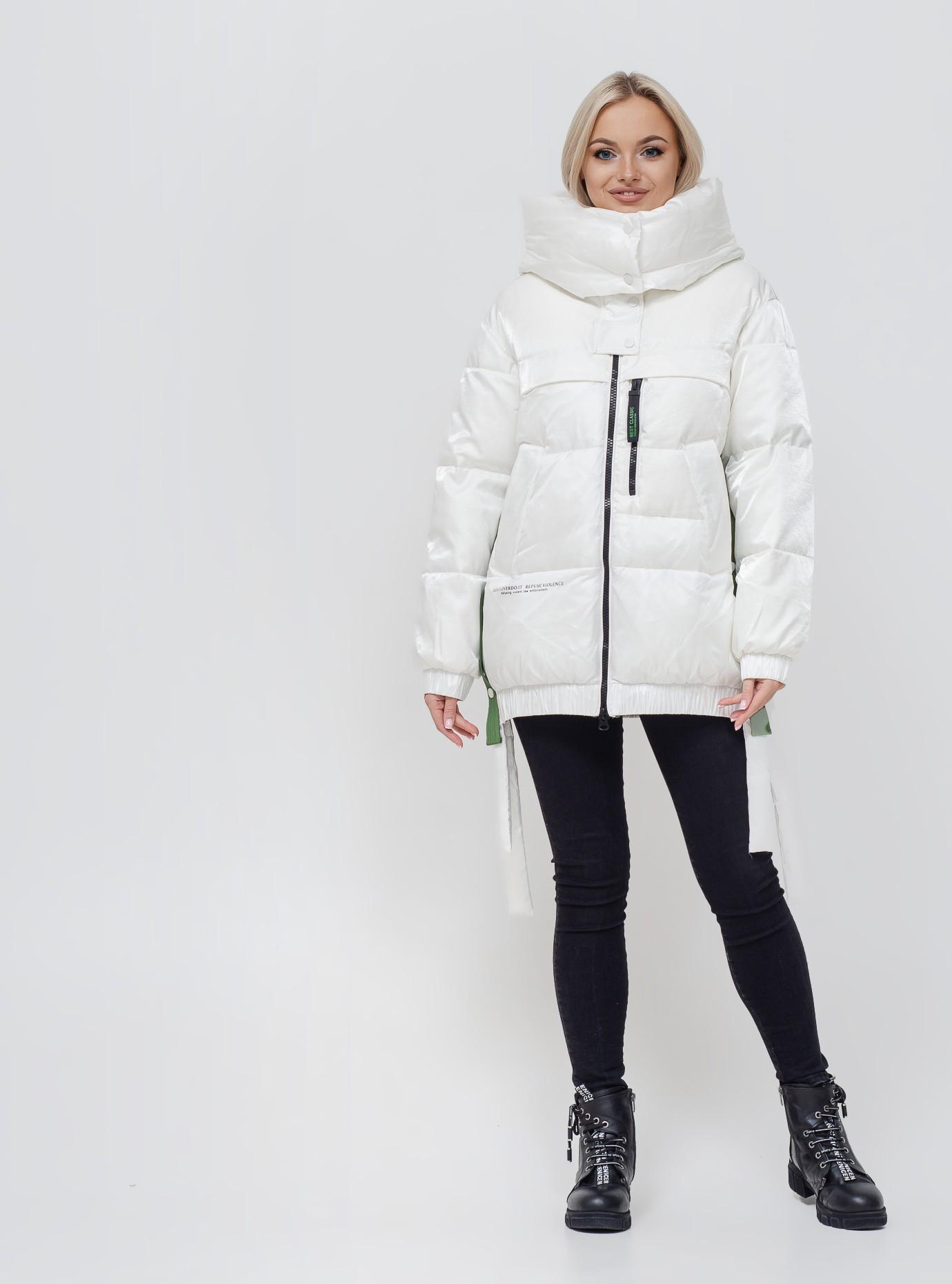 Куртка зимняя TOWNY 1870 короткая L белая
