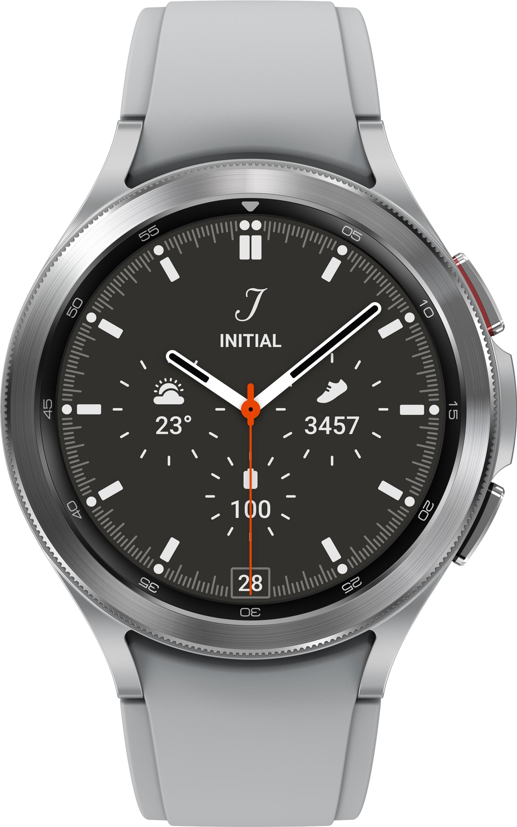Смарт-годинник Samsung Galaxy Watch 4 Classic 46 mm Silver (SM-R890NZSASEK)
