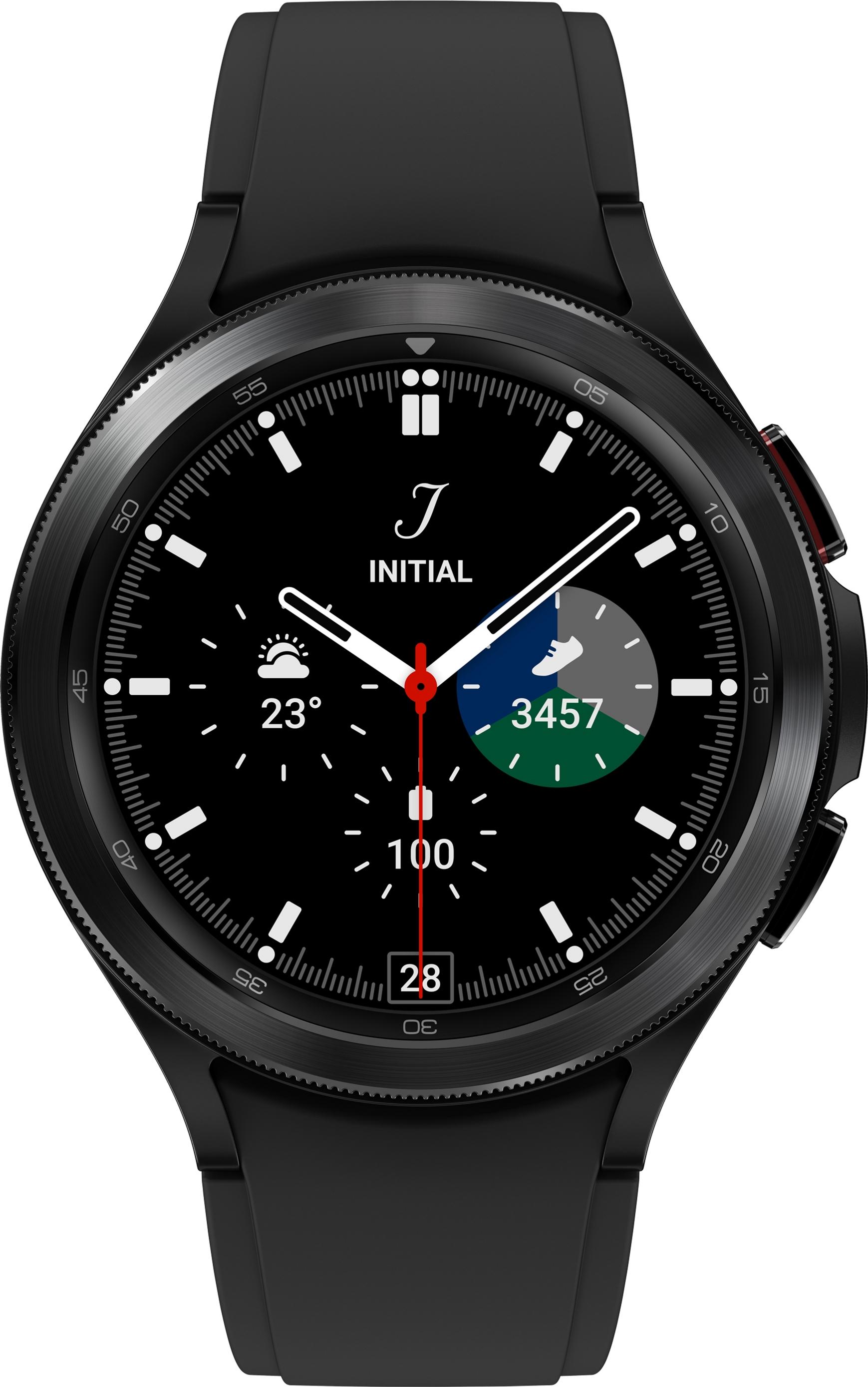 Смарт-годинник Samsung Galaxy Watch 4 Classic 46 mm eSIM Black (SM-R895FZKASEK)