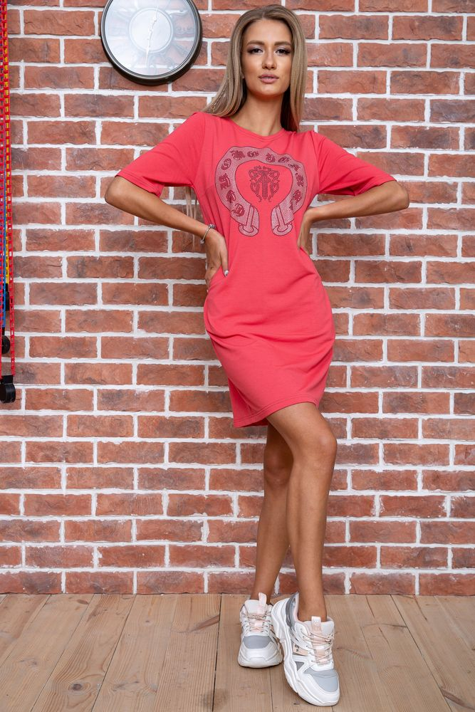 Ager / Платье AGER M Коралловый 167R007-3