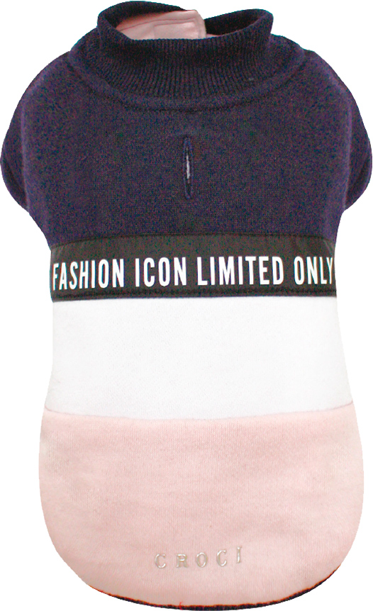 Свитшот Croci Fashion Icon L Сине-розовый (8023222250550)