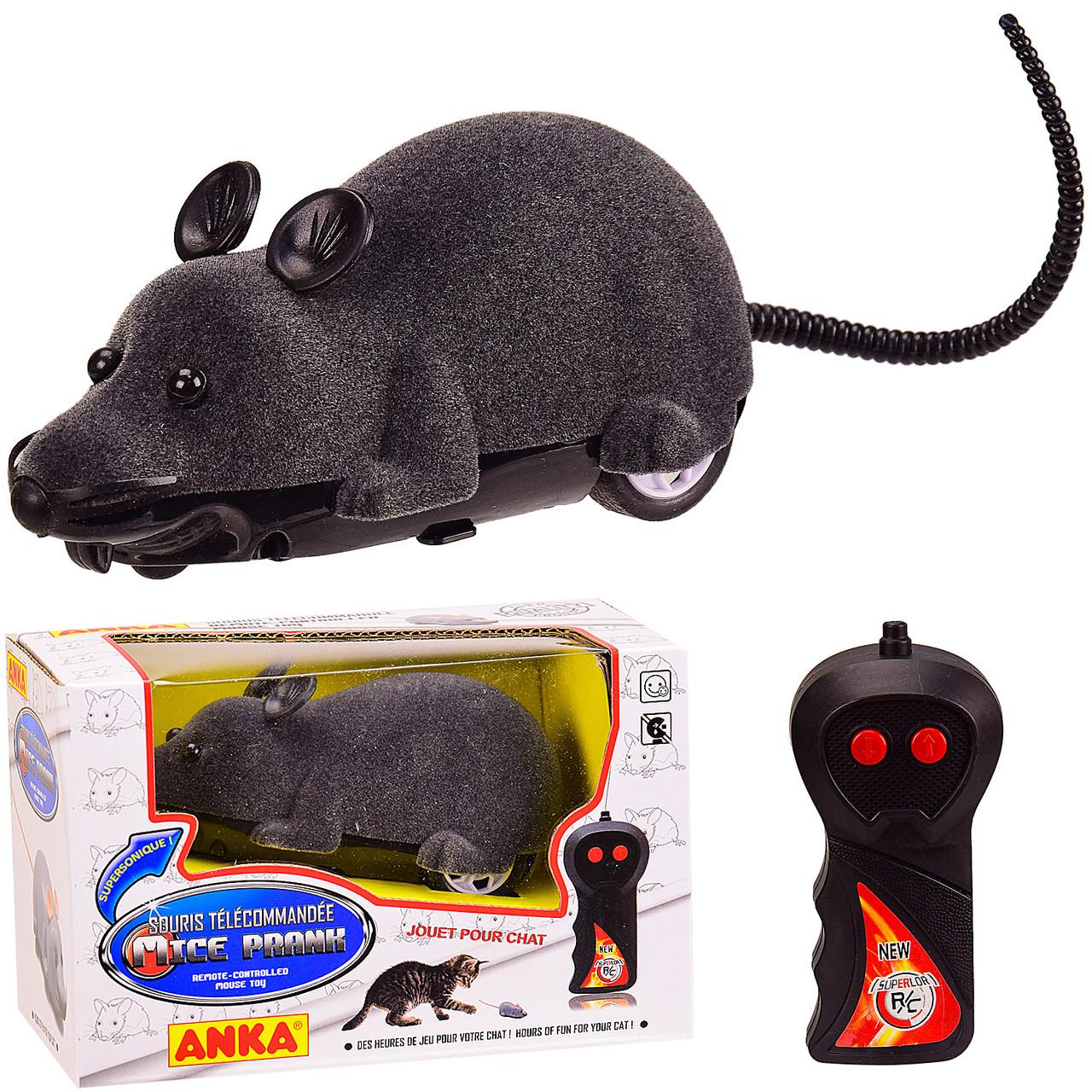 AToys / Игрушка на радиоуправлении мышка крыса 14 см радиоуправляемая