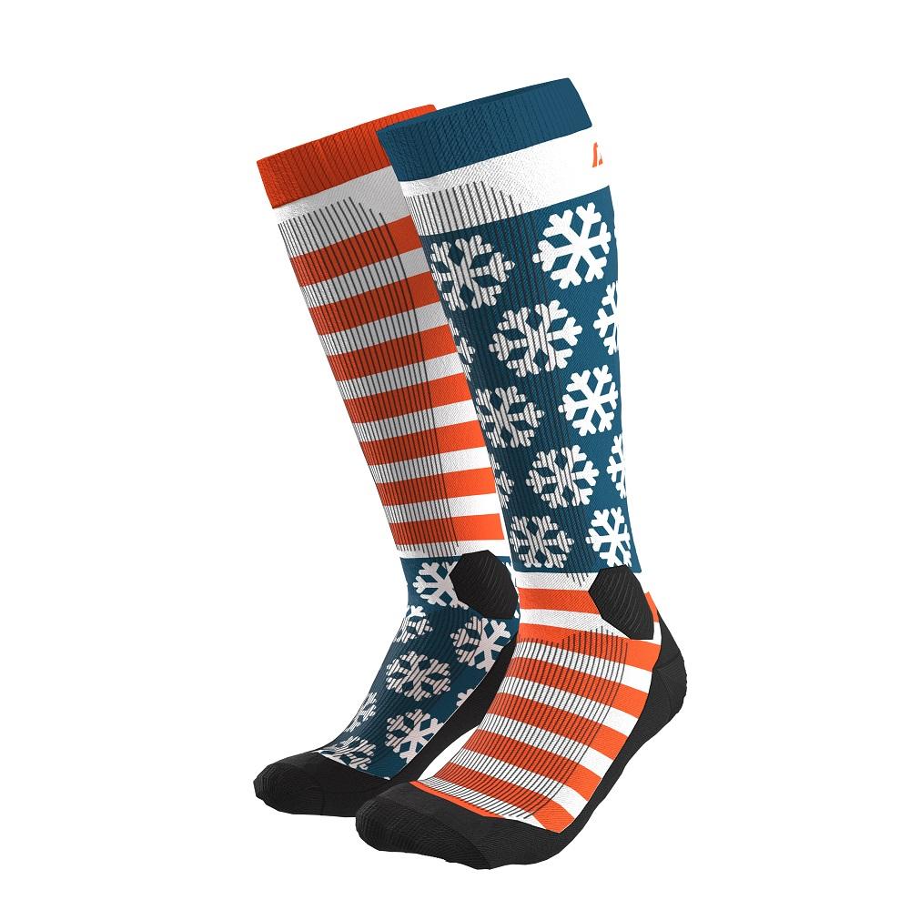 Шкарпетки Dynafit FT Graphic Socks S Синій/Помаранчевий (016.002.1318)