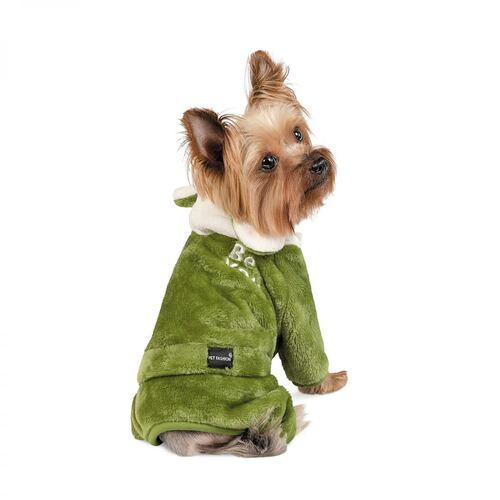Дождевик для собак JALF оливка XS Pet Fashion BGL-PF-1336