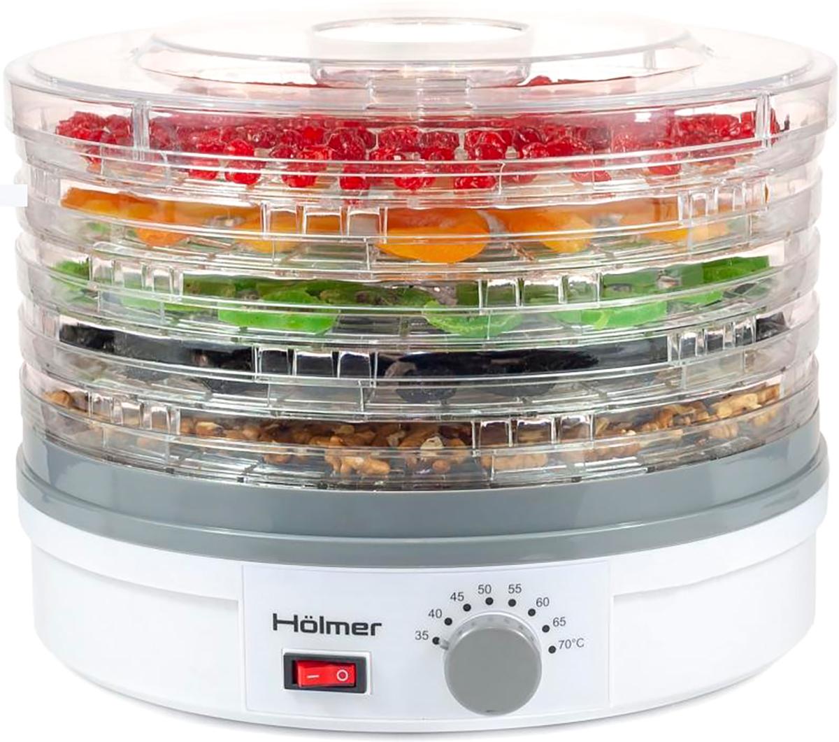 Сушарка для овочів і фруктів H?lmer HFD-25W