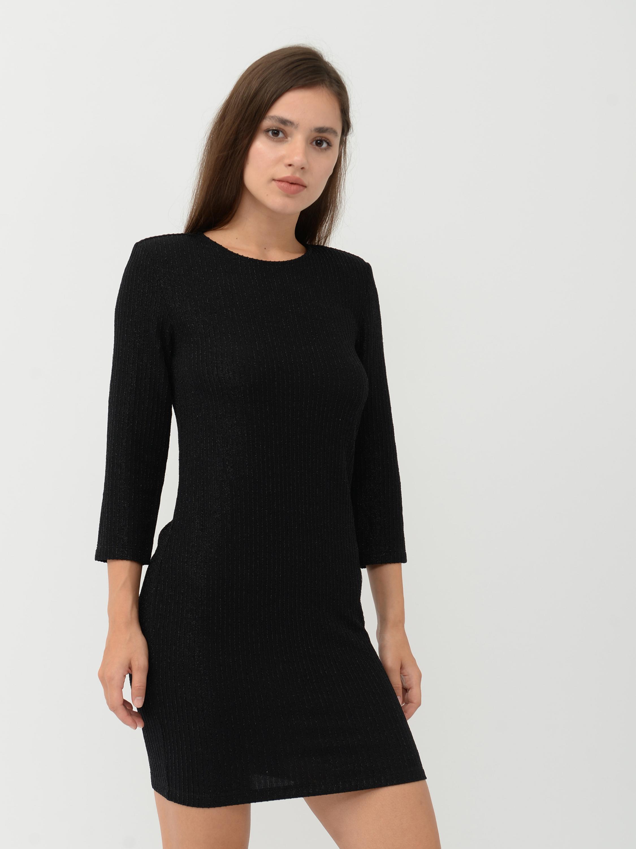 Платье Monki 467461 S Черное