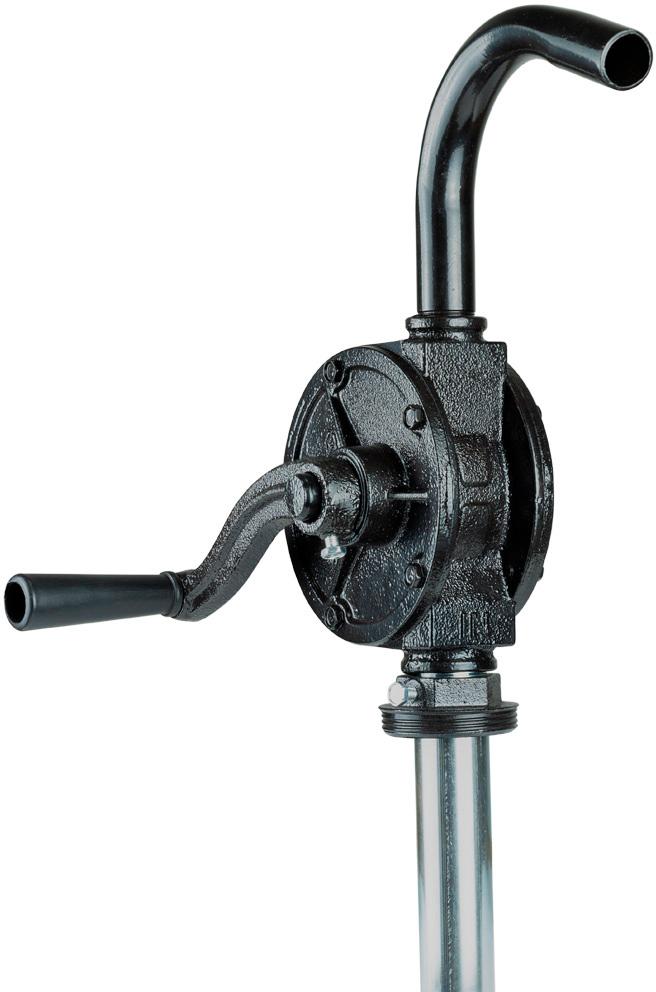 Насос ручний Sigma роторний для перекачування оливи з бочки (26 л/хв)