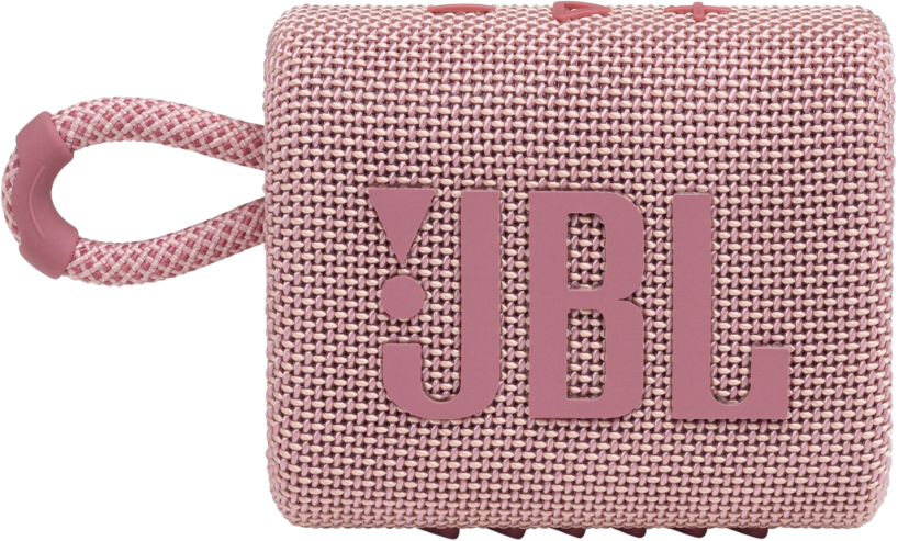 Акустична система JBL Go 3 Pink