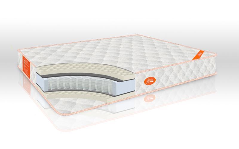 Матрас Ортопедический Classic Luxe с независимыми пружинами PocketSpring, нагрузка до 130 кг 160х200х19 см