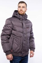 Куртка мужская с капюшоном Time of Style 157P3106 46 Хаки - изображение 3