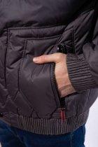 Куртка мужская с капюшоном Time of Style 157P3106 46 Хаки - изображение 6