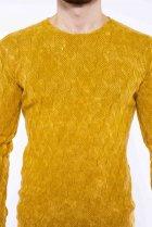 Джемпер приталенного кроя Time of Style 11P243 XL Желтый варенка - изображение 5
