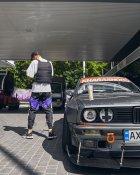 Теплые спортивные штаны Over Drive Split черно-белые с фиолетовым XS - изображение 4