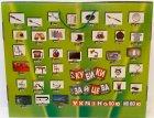 Кубики Зайцева Свена на украинском языке 54х43х6,5 см - изображение 4