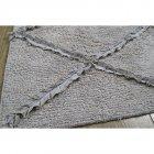 Набор ковриков Irya - Nadia gri серый 60*90+40*60 - изображение 1
