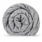 Утяжеленное (тяжелое) детское сенсорное одеяло Gravity 90x120см 4кг Серое - изображение 2